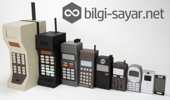 Telefonların değişimi