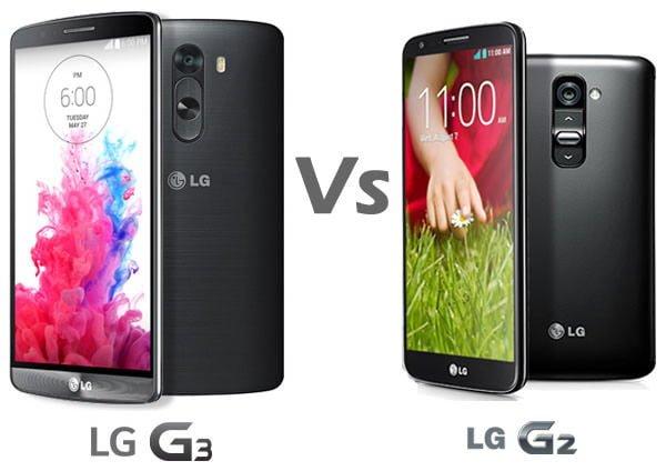 LG G2 vs LG G3