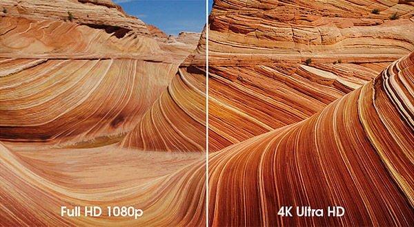 Full HD vs 4K Ultra HD