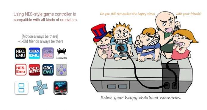 NES Kontrolü ile Mobil Oyun Keyfi
