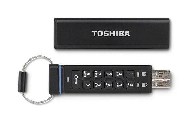 Toshiba Şifreli Flash Bellek