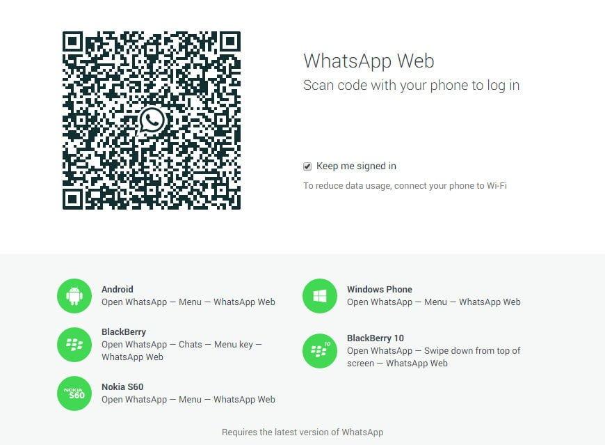 WhatsApp Web Girişi: QR