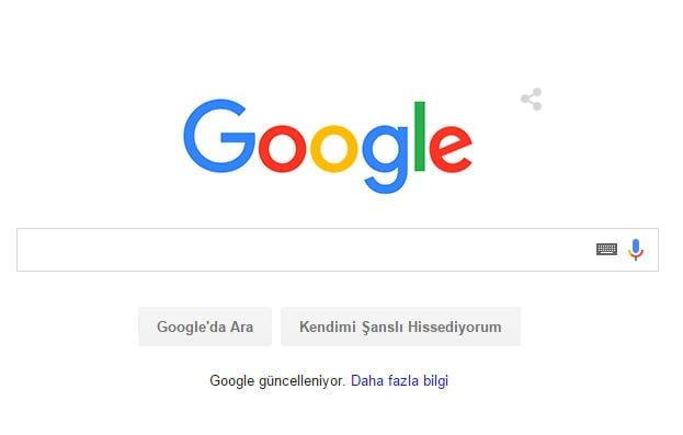 Google Yeni Logosu